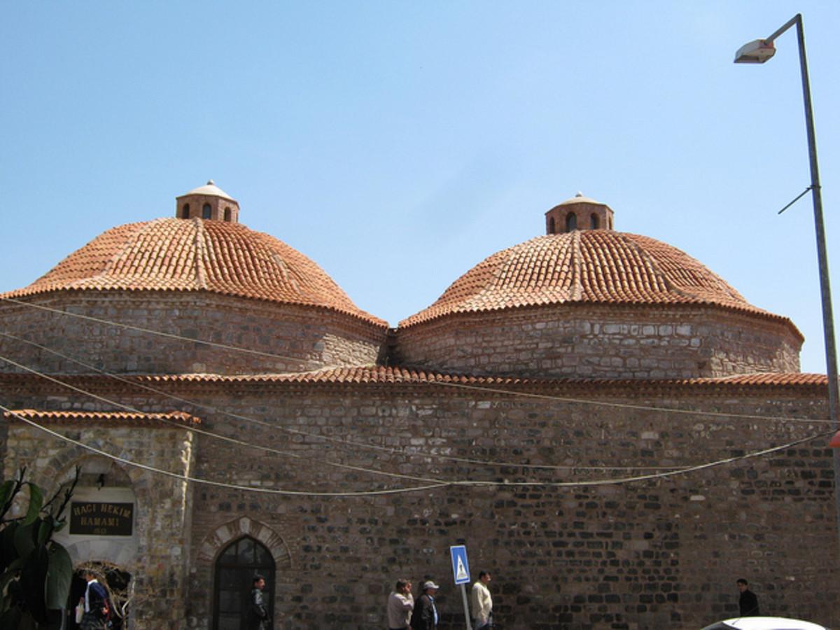 Bathhouse in Bergama Turkey