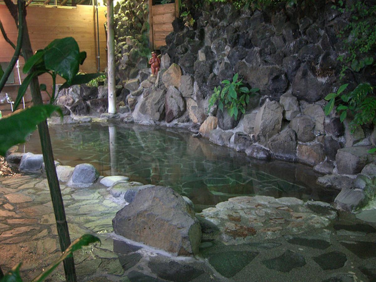 Mens Bath - Kappa Tengoku Notemburo - Hakone-Yumato
