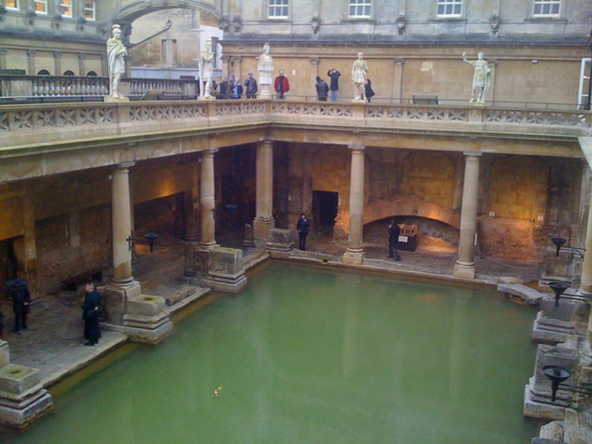 The Great Bath in Bathwick, Bath, England, GB.