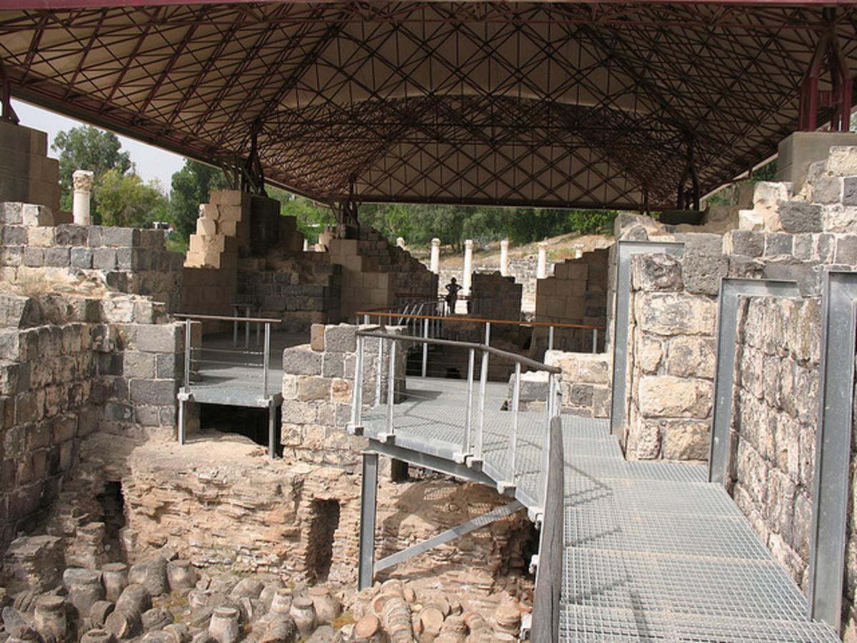 Byzantine Bathhouse Walkway