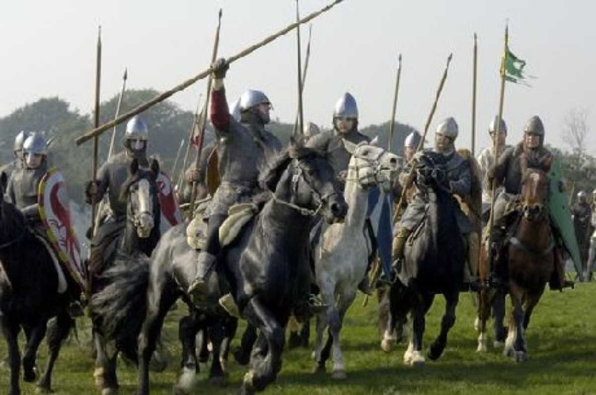 Norman cavalry - a 'conroi' could number around thirty men