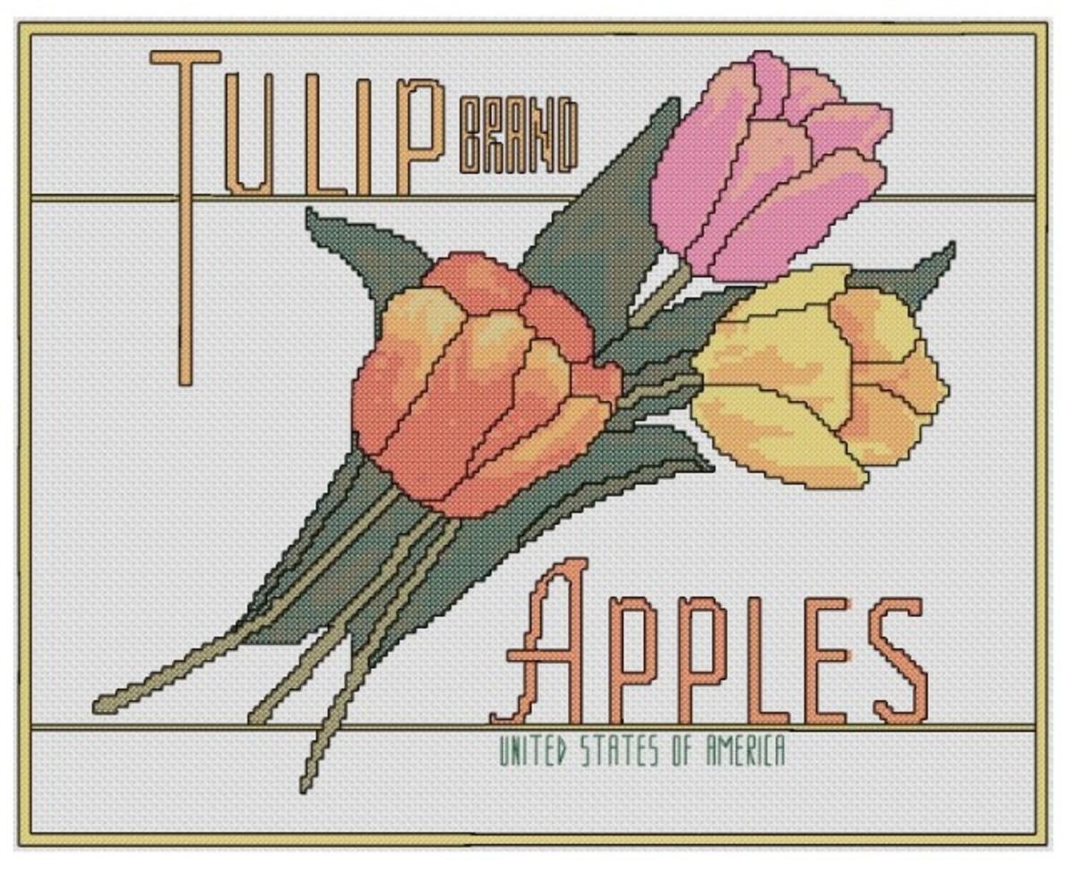 free-cross-stitch-pattern-tulip-apples-fruit-crate-label