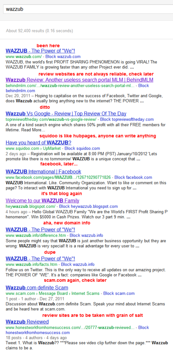 if you search for Wazzub on Google this turns up (your result may vary)