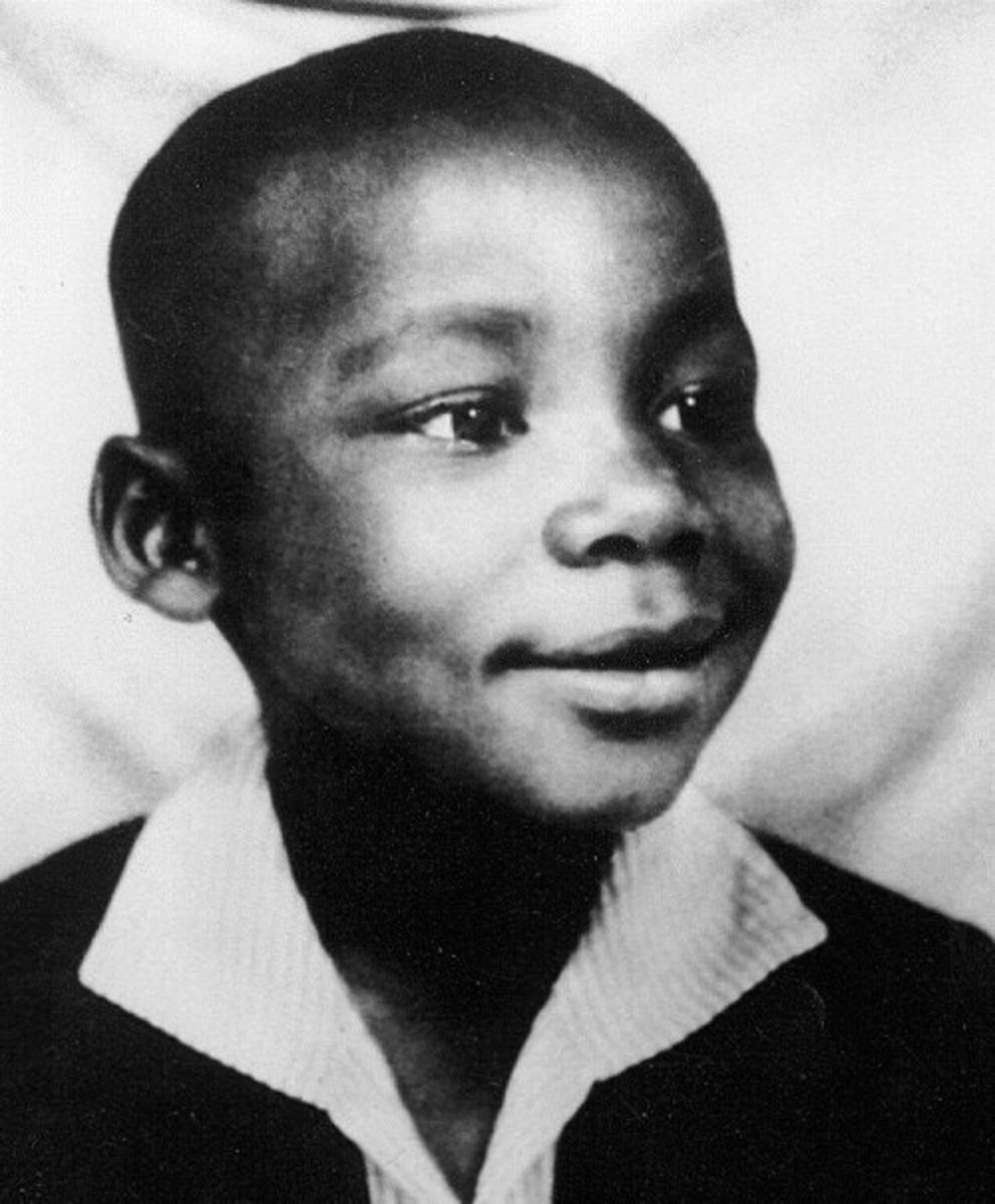 Martin Luther King Jr. as a boy