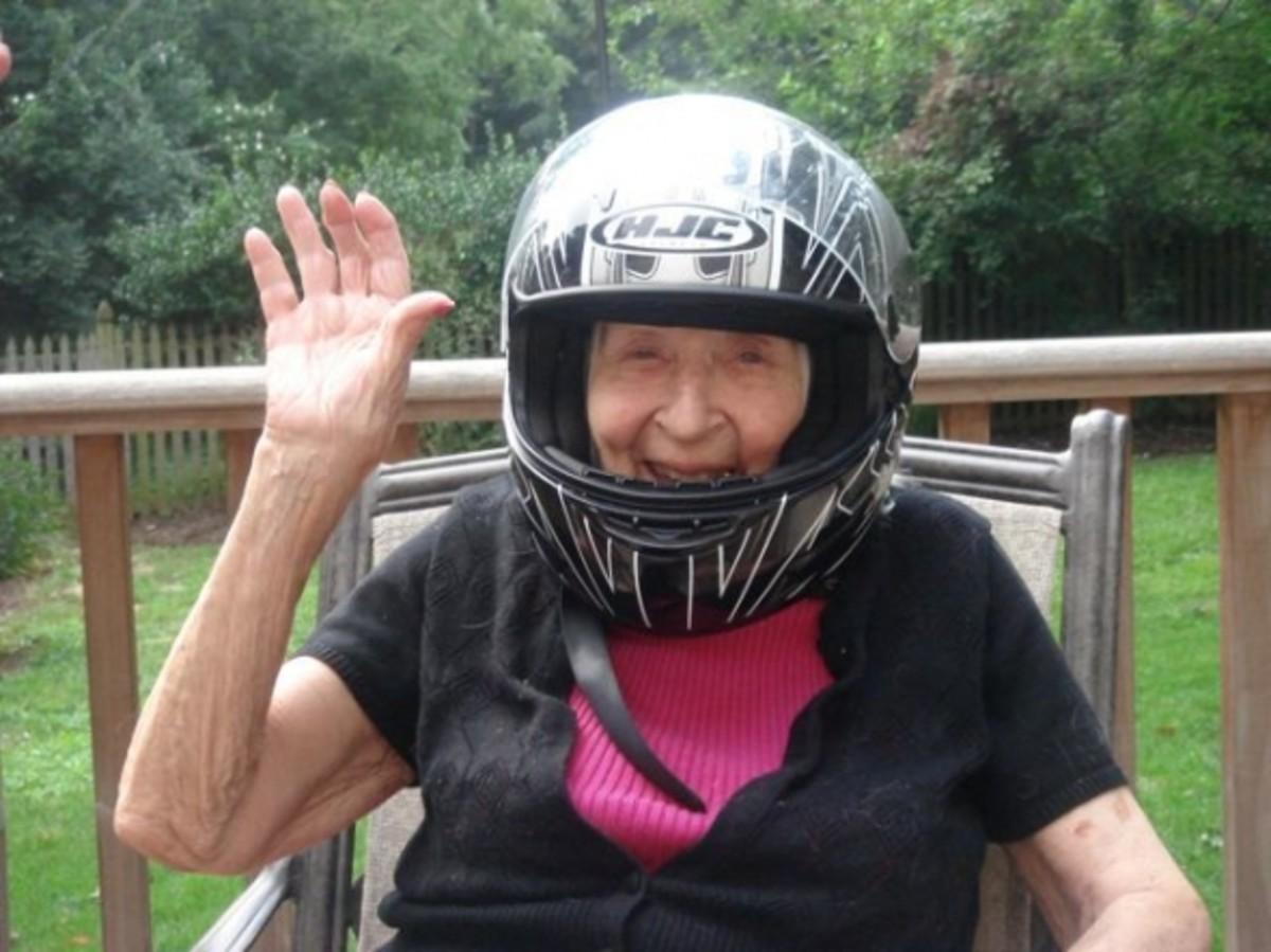 Motorcycle mama.