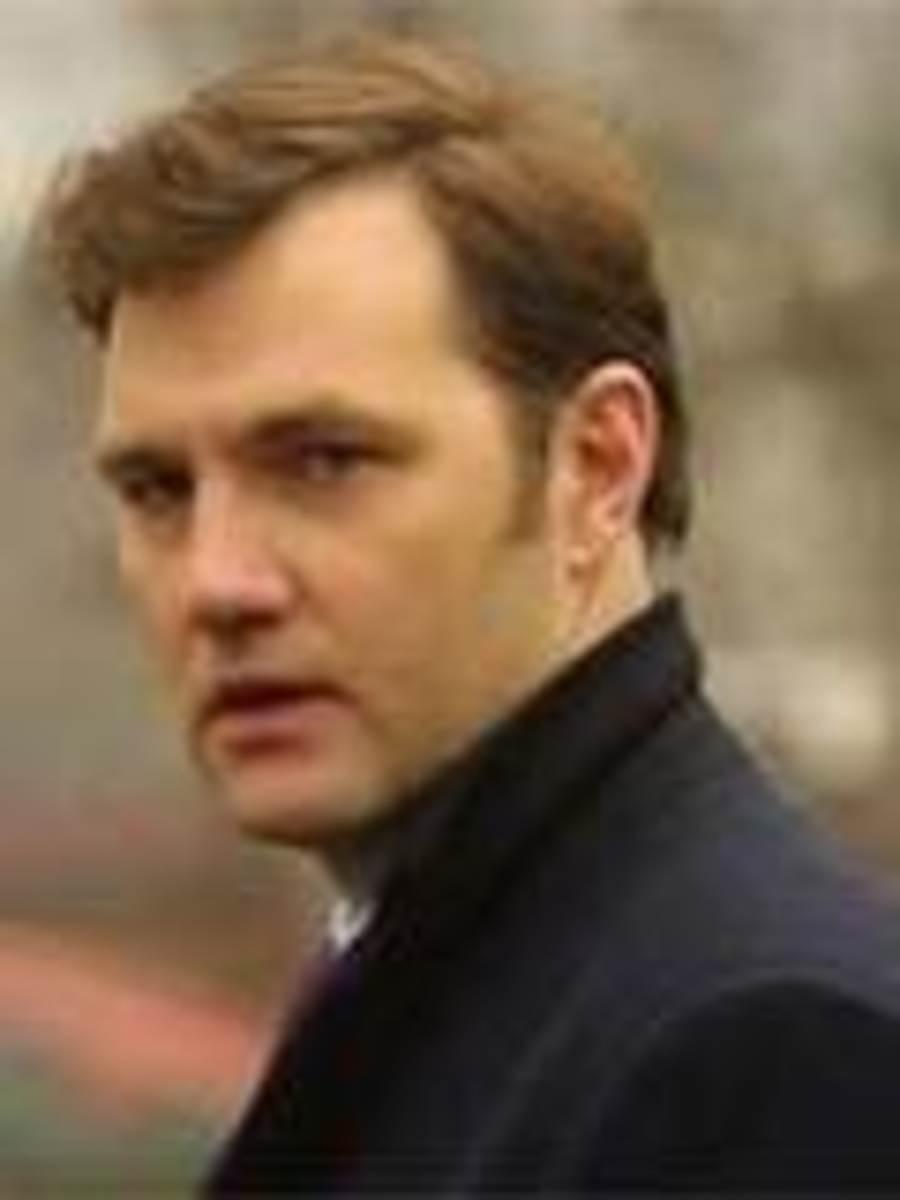 David Morrissey as Bradley Headstone - creepy but good-looking