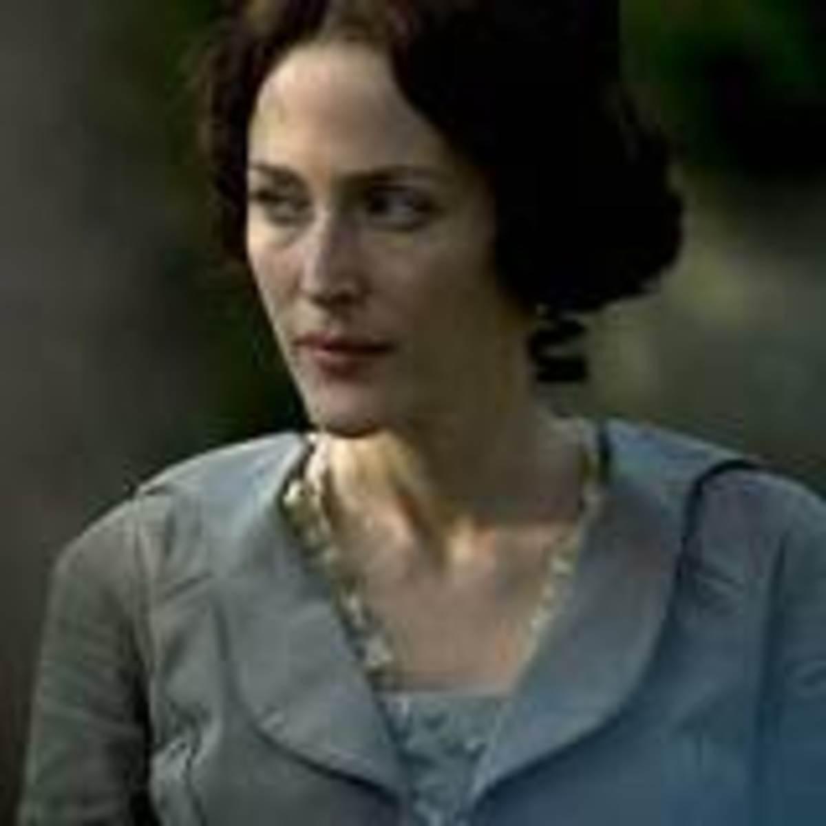 Gillian Anderson as Lady Dedlock, what is her secret?