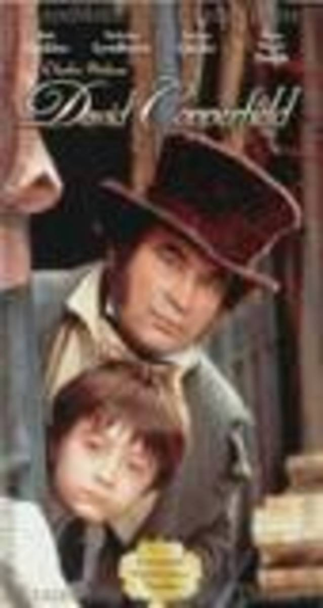 Bob Hoskins as Mr Micawber in David Copperfield