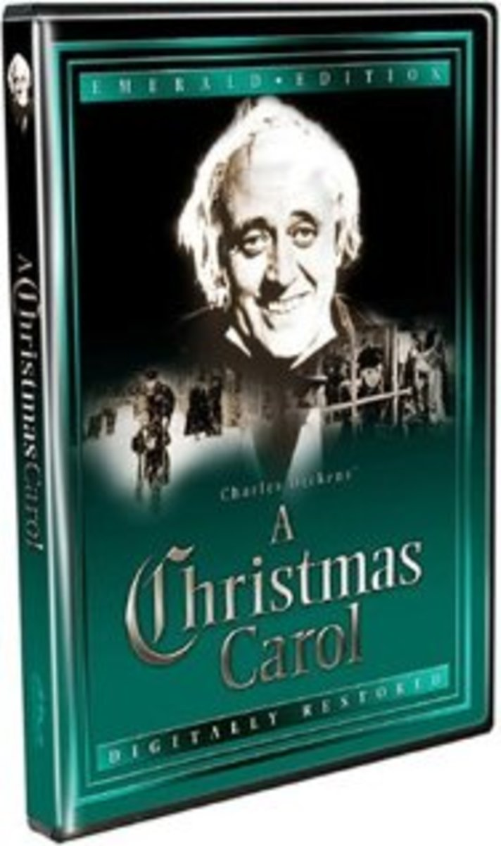 Poster for 'A Christmas Carol' - more popularly known as Scrooge