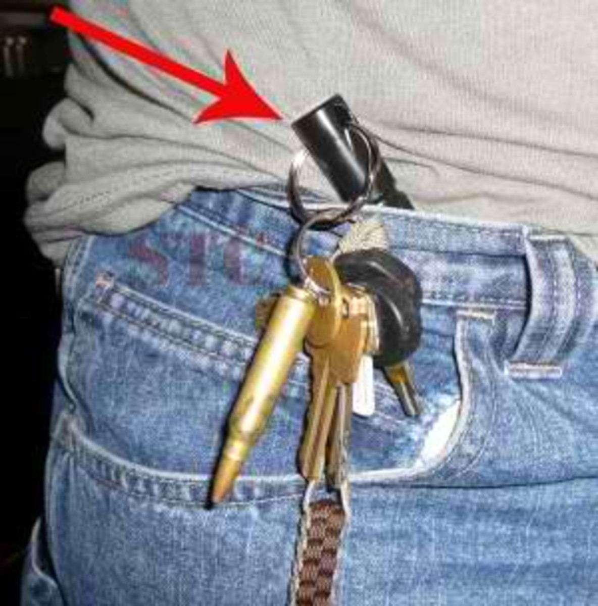 """kubotan """"key chain"""""""