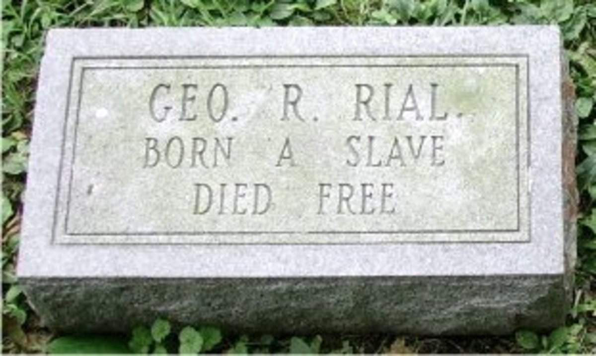 Born A Slave, Died Free--Freed Randolph Slaves' Journey From Virginia to Ohio