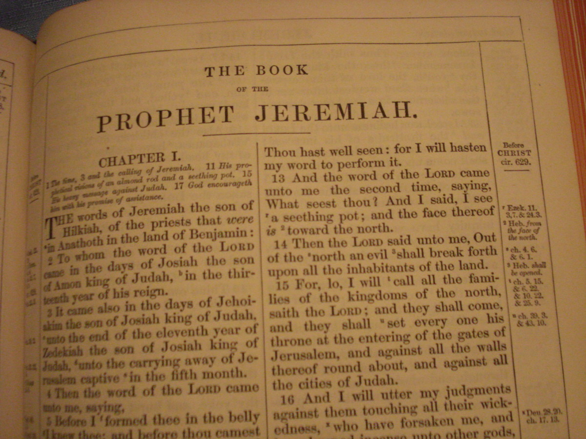 The Book of the Prophet Jeremiah