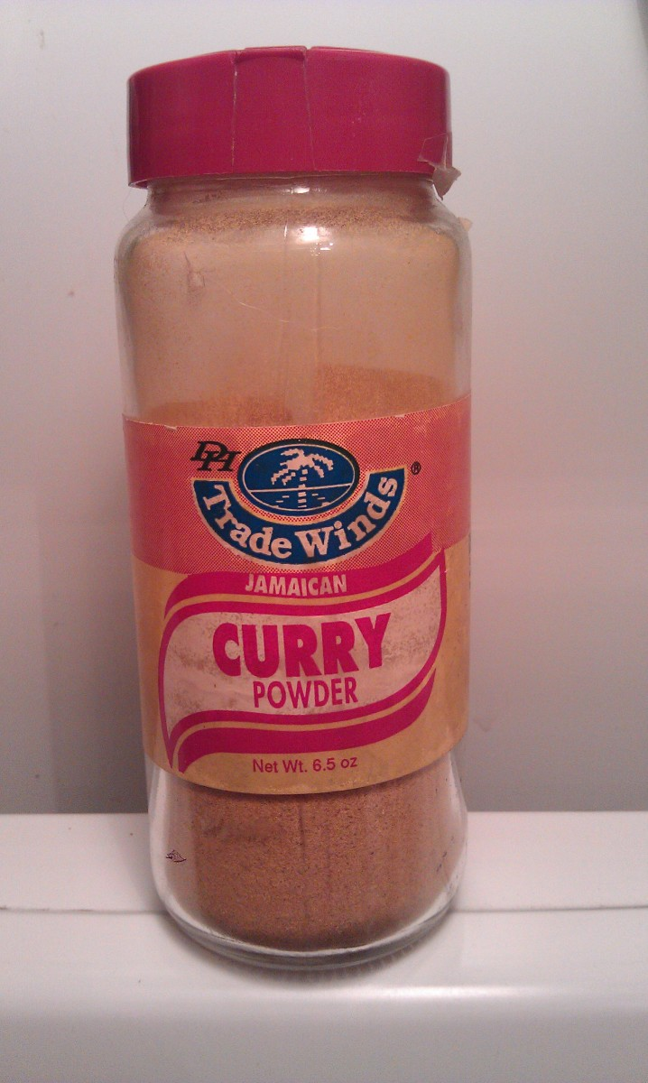 Curry powder with turmeric