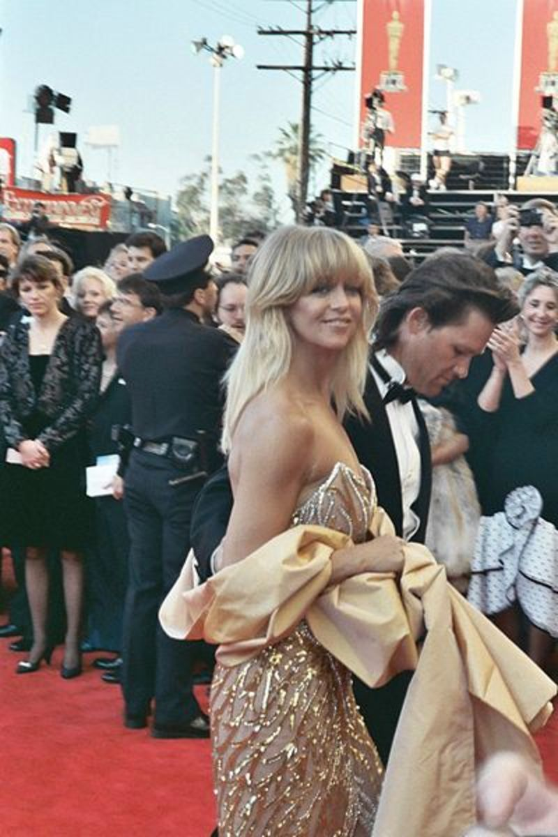 Goldie Hawn and Kurt Russell. Together forever?