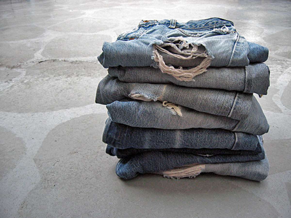 does the stack of jeans in your closet look like this?