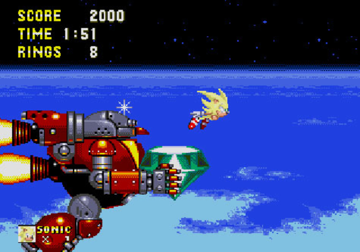 The Greatest Super-Sonic Fight Ever