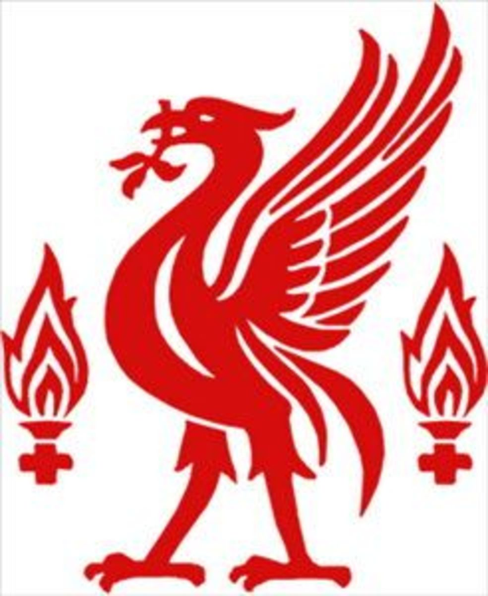 The Liverbird and Eternal Flames. This famous bird emblem actually belongs to the people and city of Liverpool but is synonymous with Liverpool Football Club.