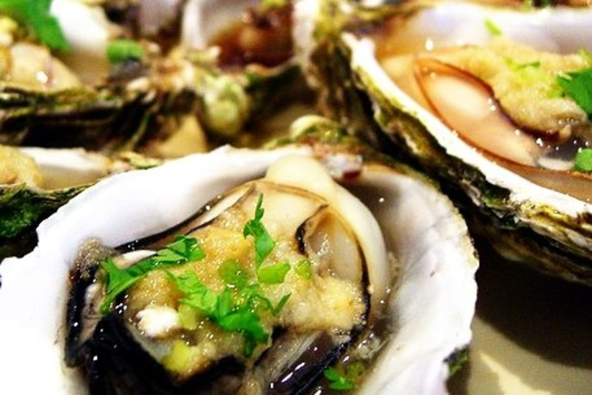 Oysters, an aphrodisiac? It is packed with zinc, selenium, amino acids, phosphorus, iodine and other minerals that are essential to increase your libido level