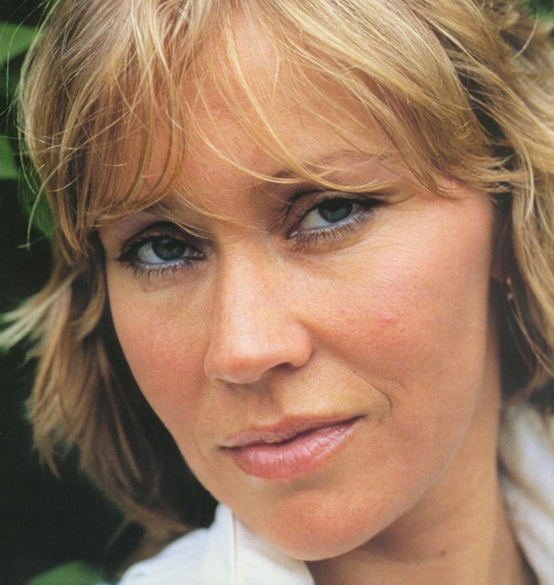 ABBA's Agnetha Falkstog