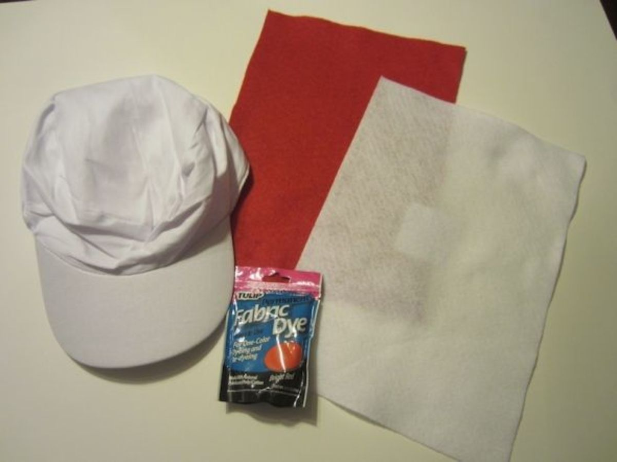 How to Make simple Mario Hats - Here s how to make a Super Mario Cap for  everyone at the party d715c4c77db0