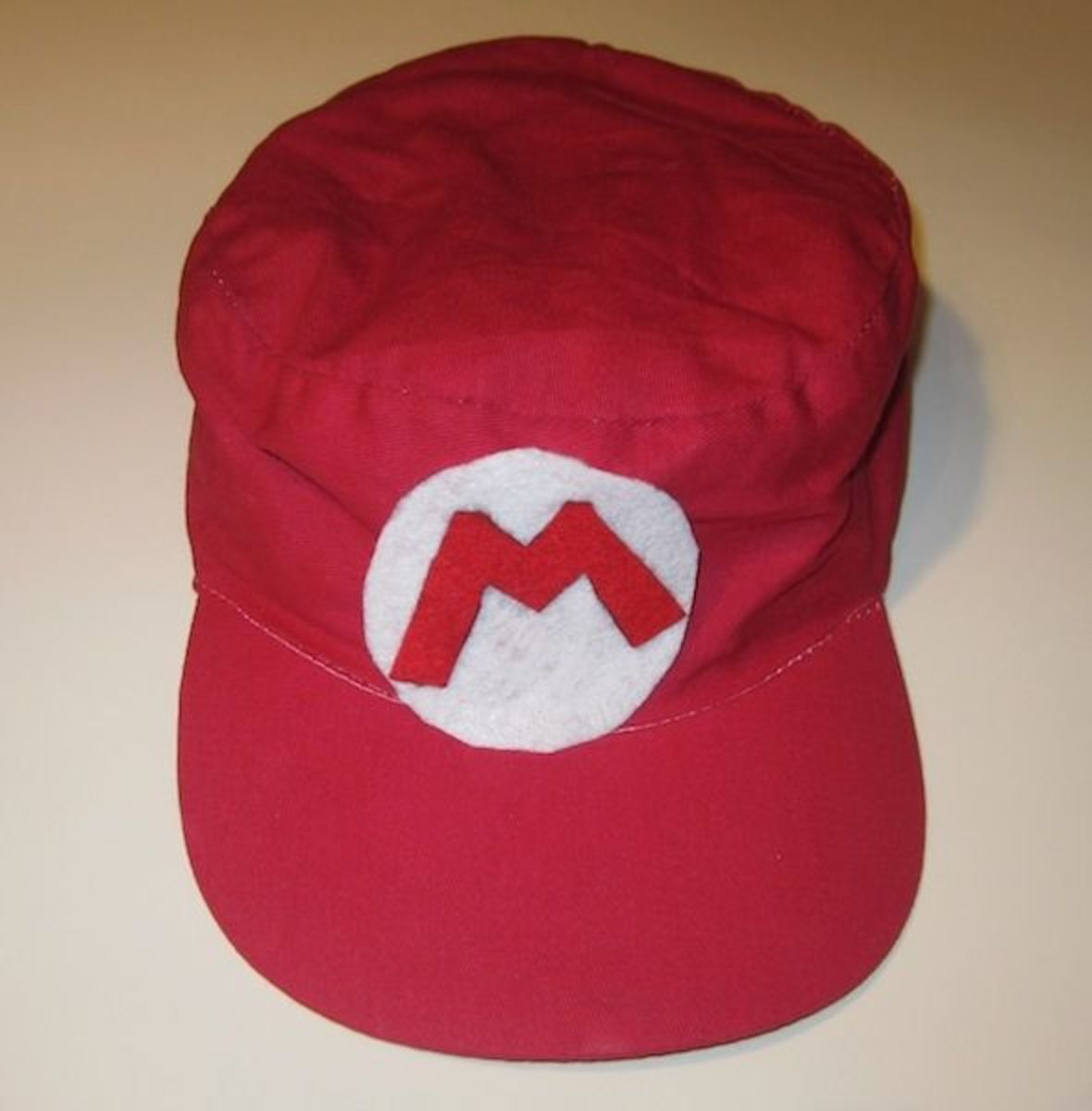 Party Favor  Mario Cap - Make a Mario Cap for every kid to wear during the  party and then take home e64eba665191