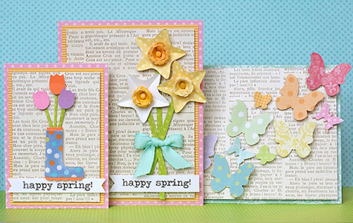 Spring greeting cards homemade card ideas to make hubpages there m4hsunfo