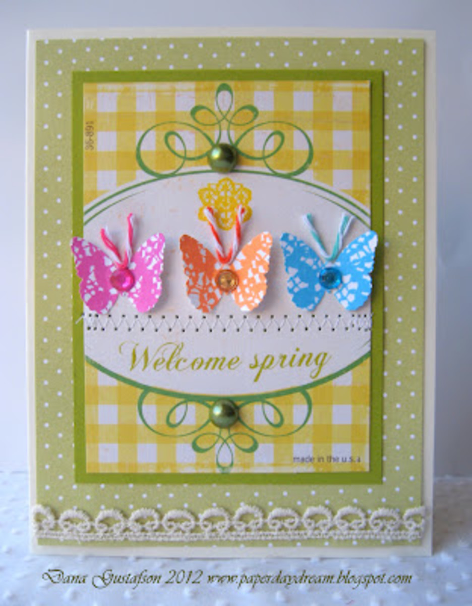 spring greeting cards homemade card ideas to make  hubpages, Greeting card
