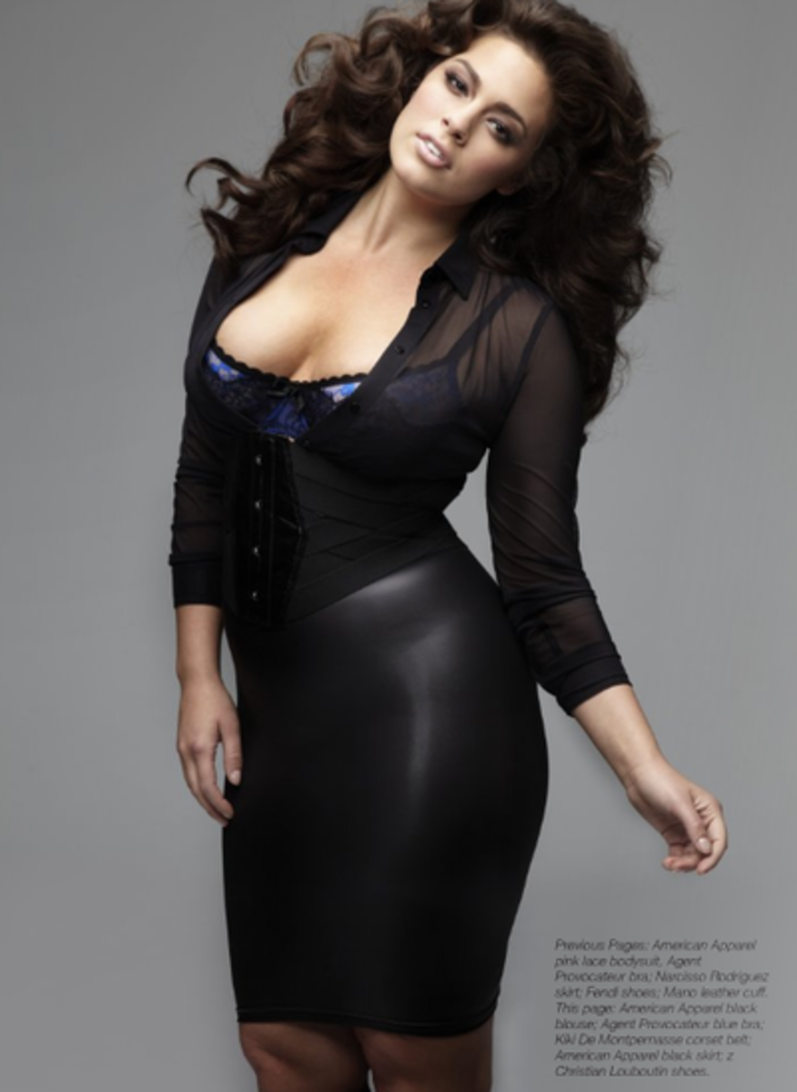 Beautiful Plus Sized Model: Ashley Graham