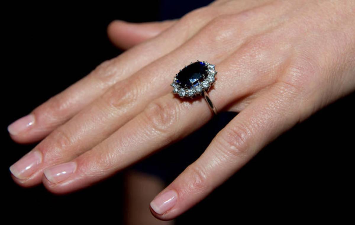 Princess Kate's Hand