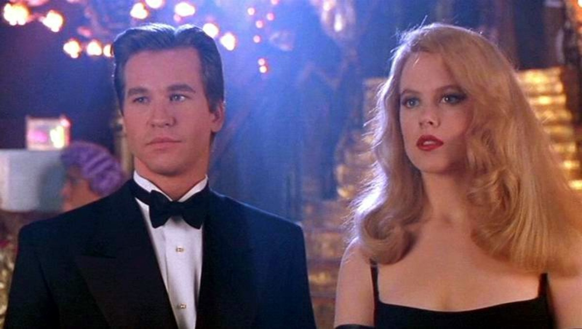 Val Kilmer and Nicole Kidman in Batman Forever (1995)