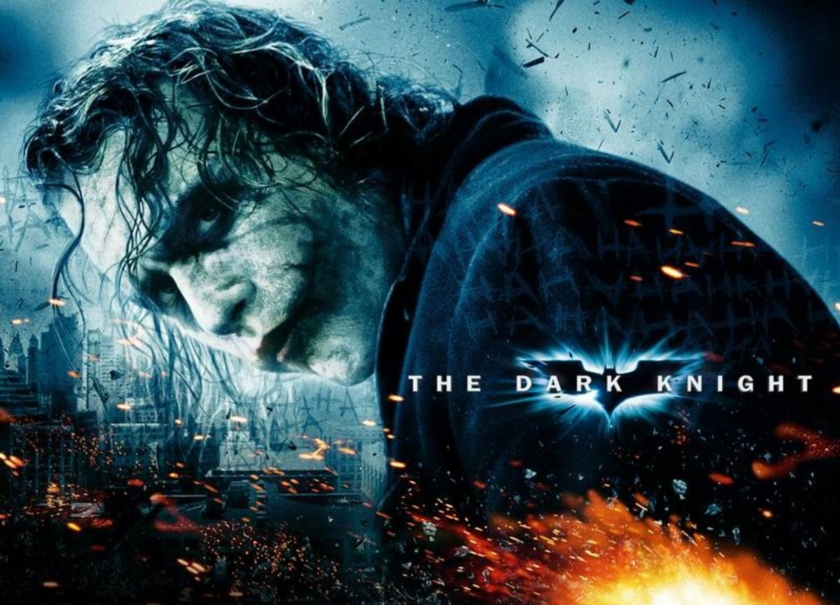 The Dark Knight (2008) poster