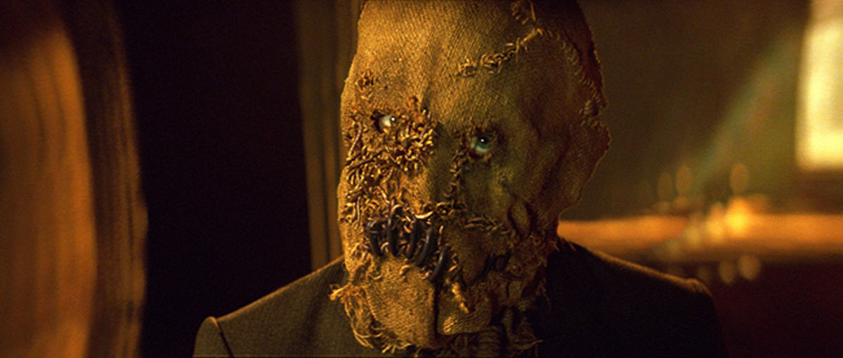 Cillian Murphy as the Scarecrow in Batman Begins (2005)