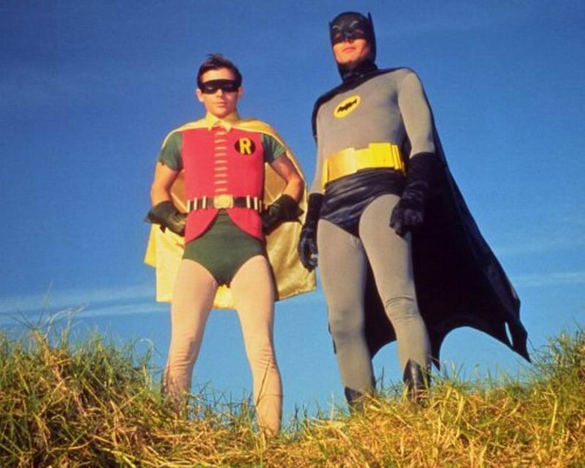 Burt Ward and Adam West in Batman (1966)