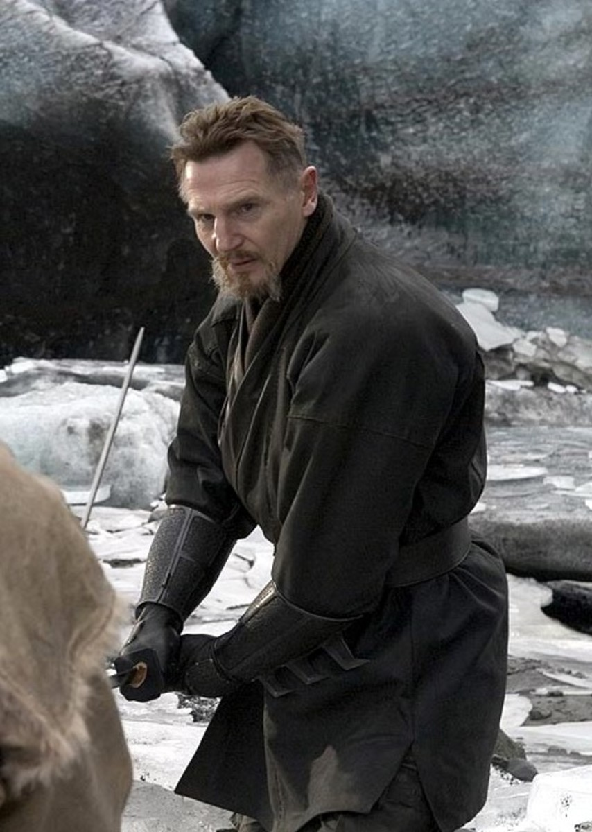 Liam Neeson in Batman Begins (2005)