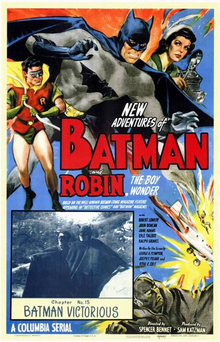 Batman and Robin (1949) poster