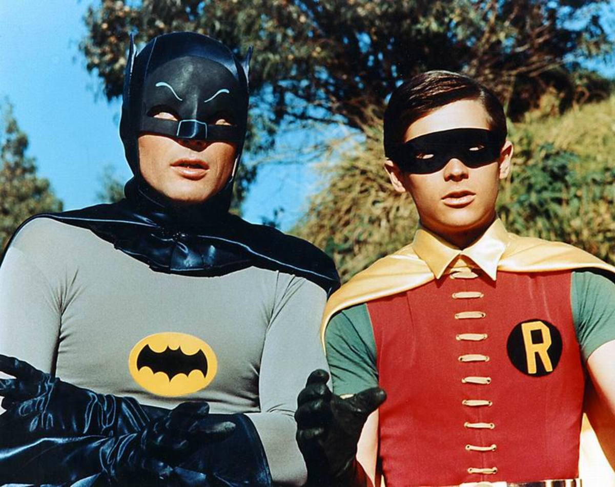 Adam West and Burt Ward in Batman (1966)