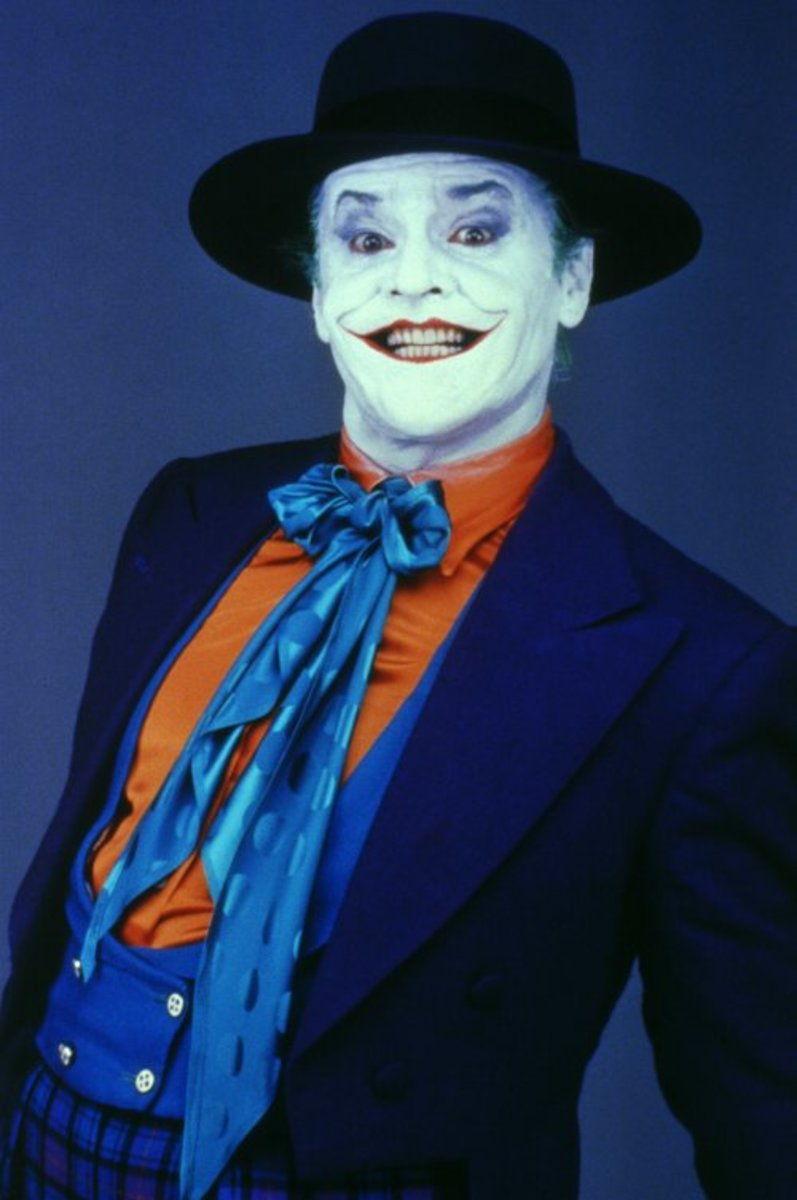 Jack Nicholson as the Joker in Batman (1989)