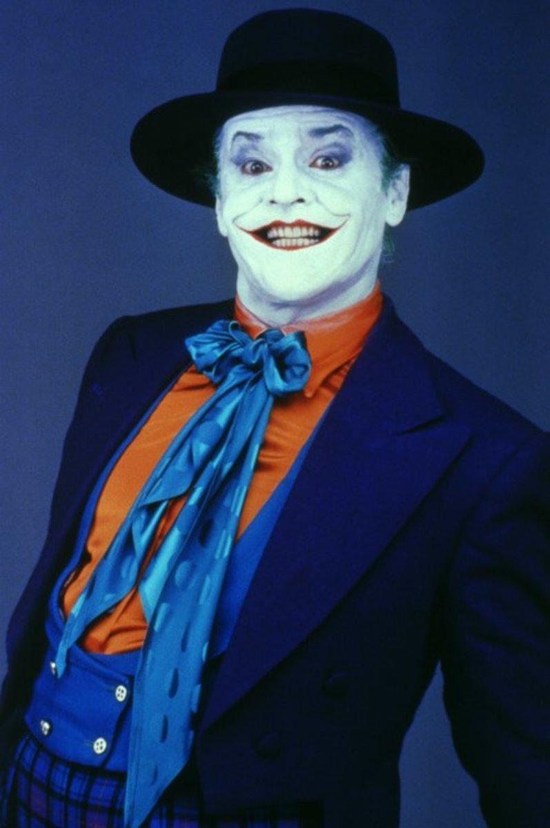 Jack Nicholson as the Joker in Batman (1989)