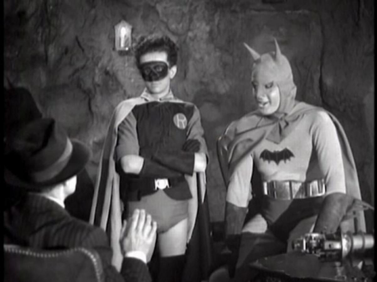 Douglas Croft and Lewis Wilson in Batman (1943)