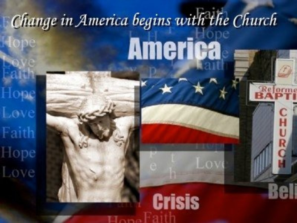 Change in America Begins with the Church: Part 1