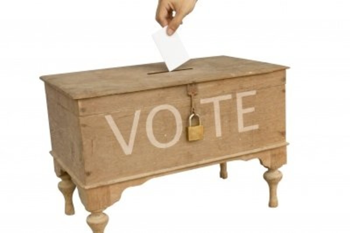 Voting is a God given and civic responsibility.