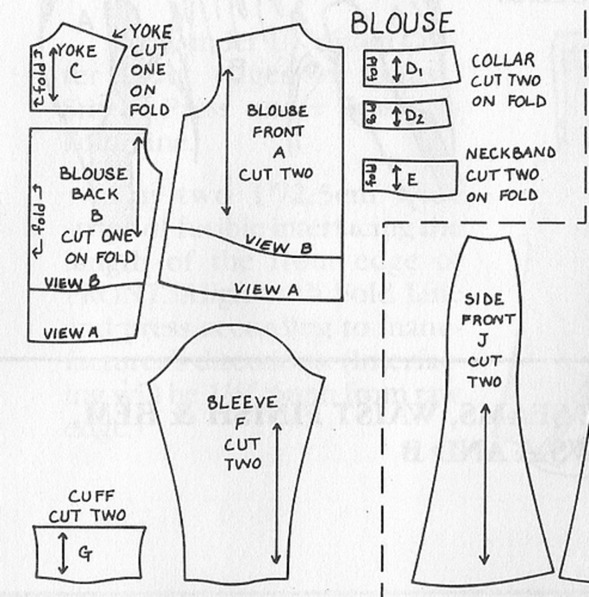 How To Sew A Maternity Blouse Long Blouse With Pants