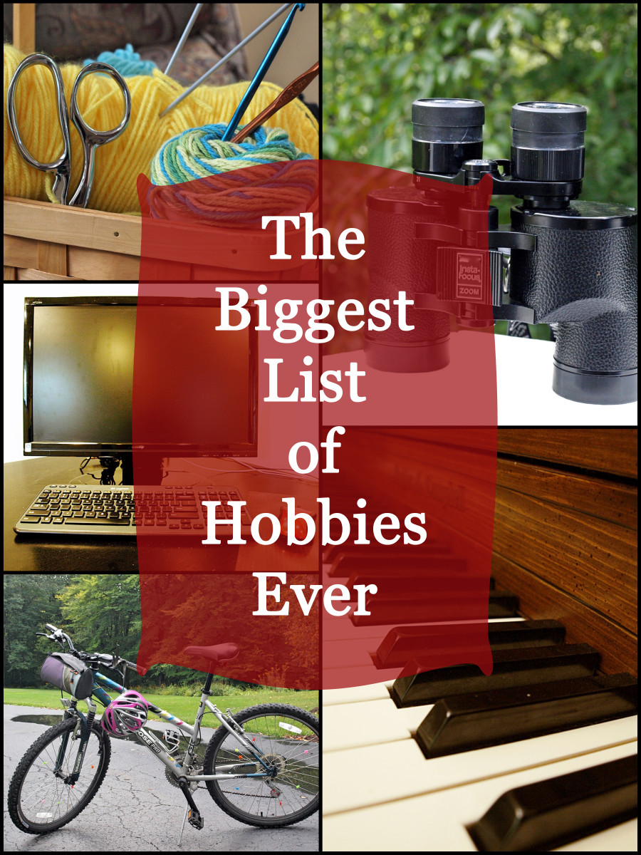 An Enormous List of Hobbies   HubPages