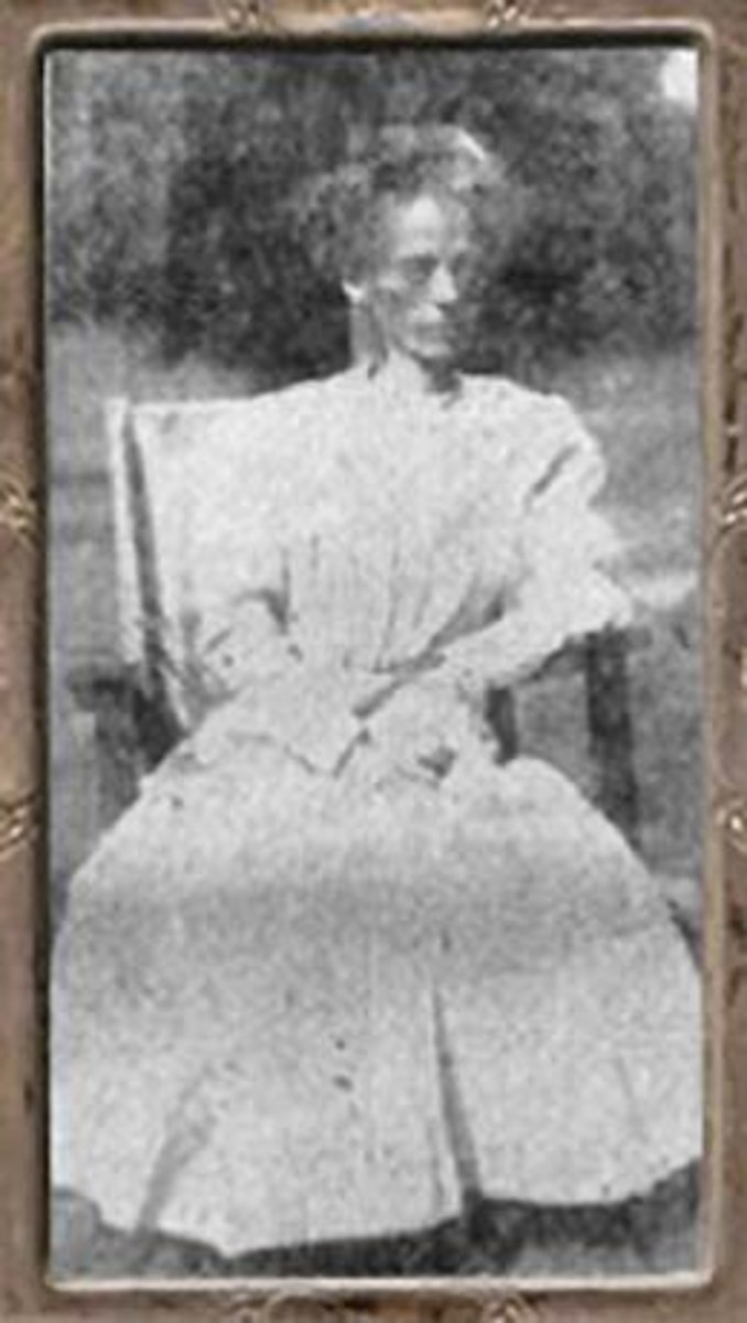 Dr. Hazzard's sister who died of starvation and was cremated.