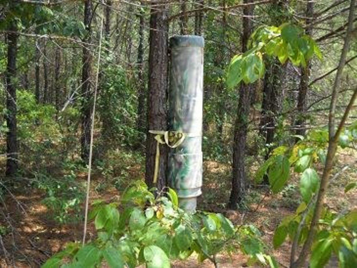How To Make A Deer Feeder Free Plans Hubpages