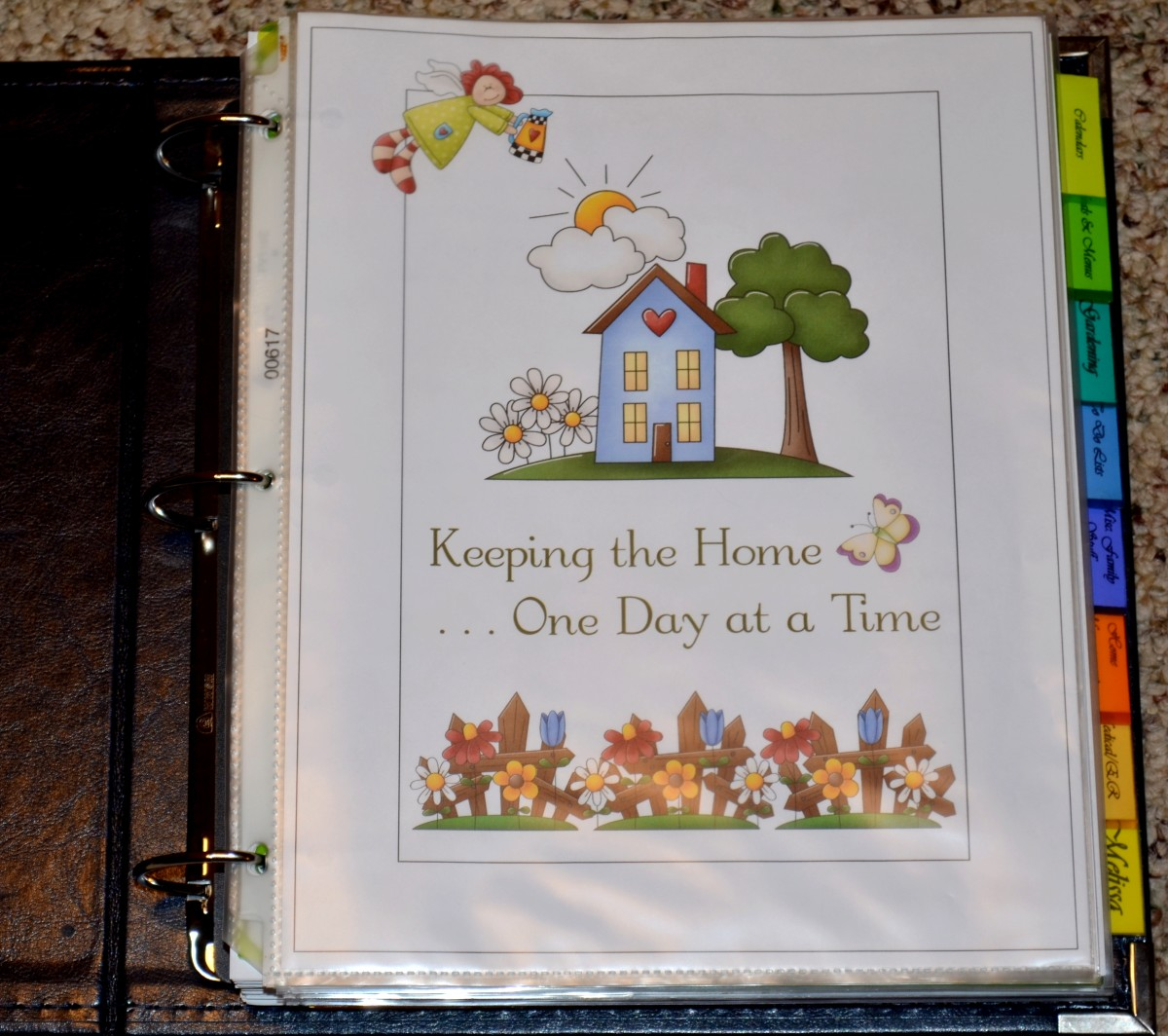 Home Management Binder: Why I Created a Household Notebook