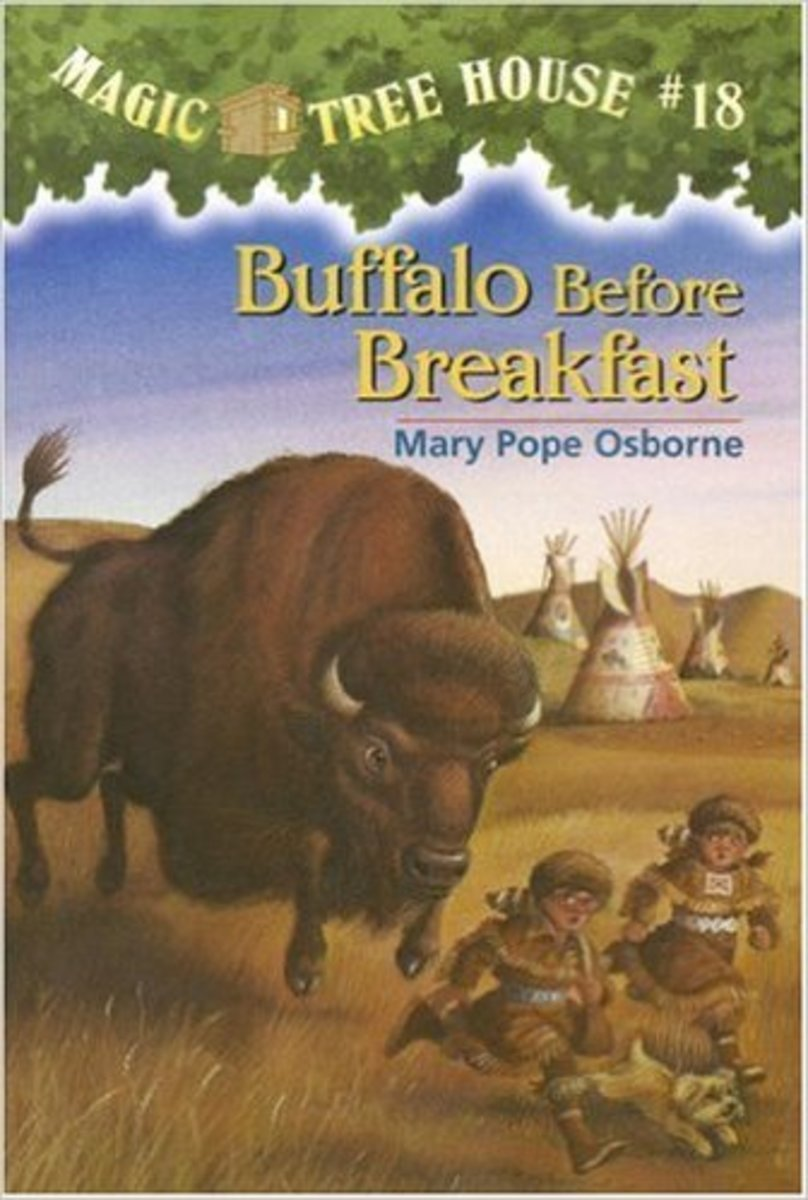 Buffalo Before Breakfast (Magic Tree House #18) by Mary Pope Osborne