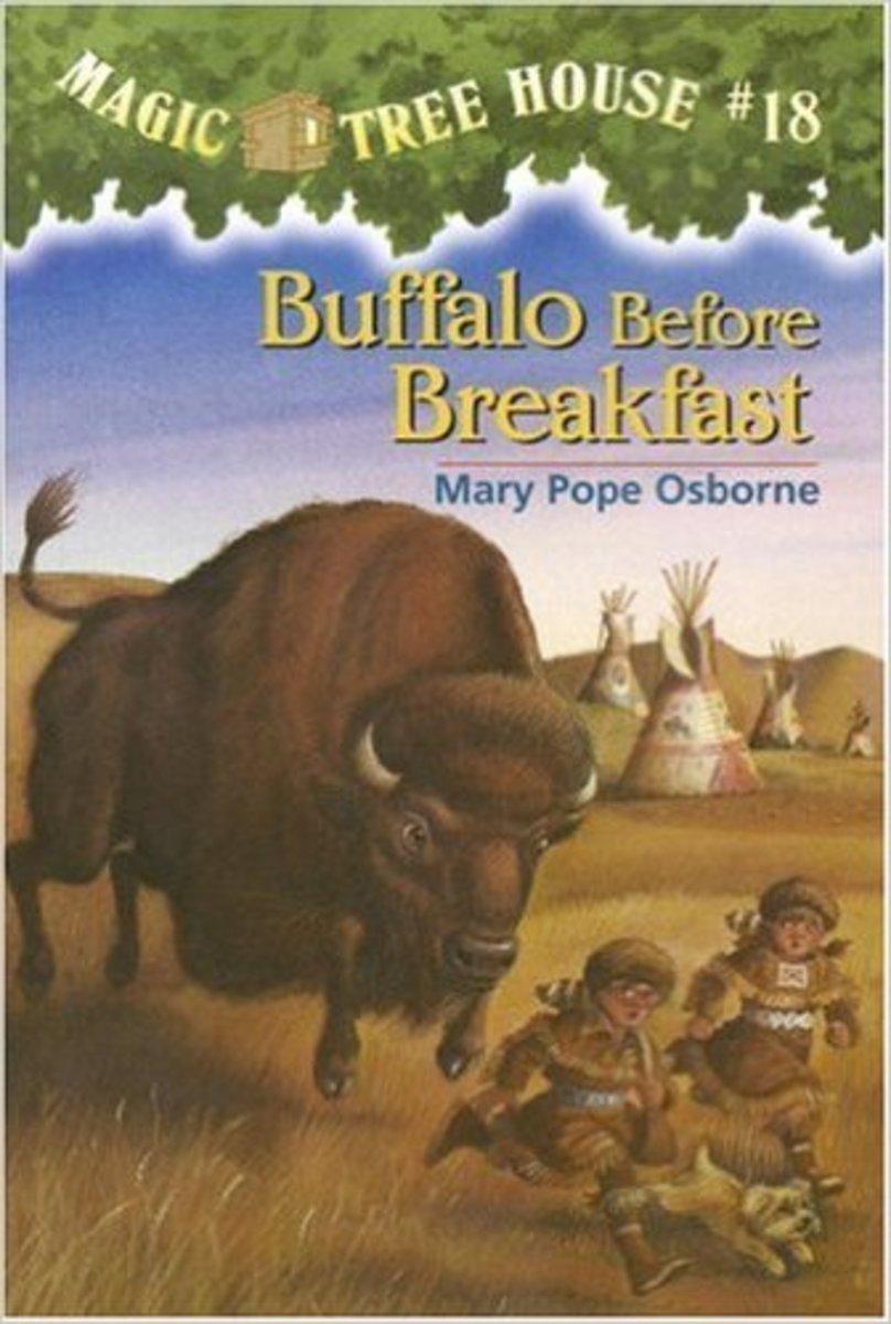 Buffalo Before Breakfast (Magic Tree House #18) by Mary Pope Osborne
