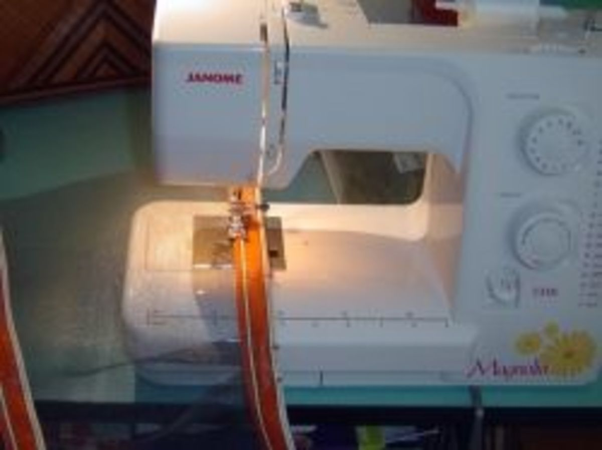 Sewing with Window Screen
