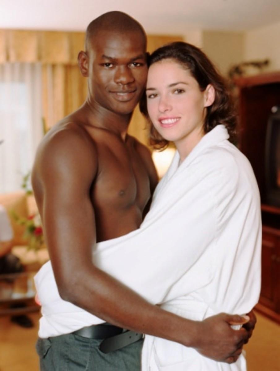 ebony women white men № 258324